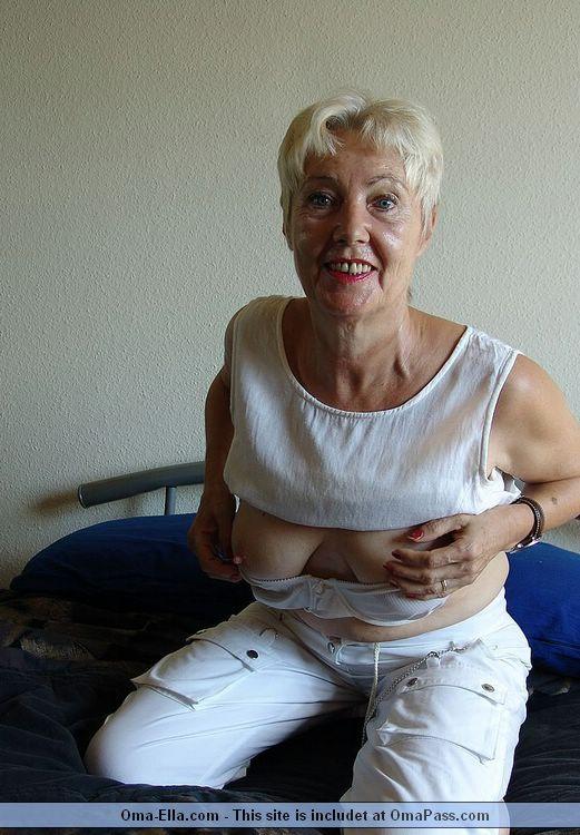 Oma granny anal