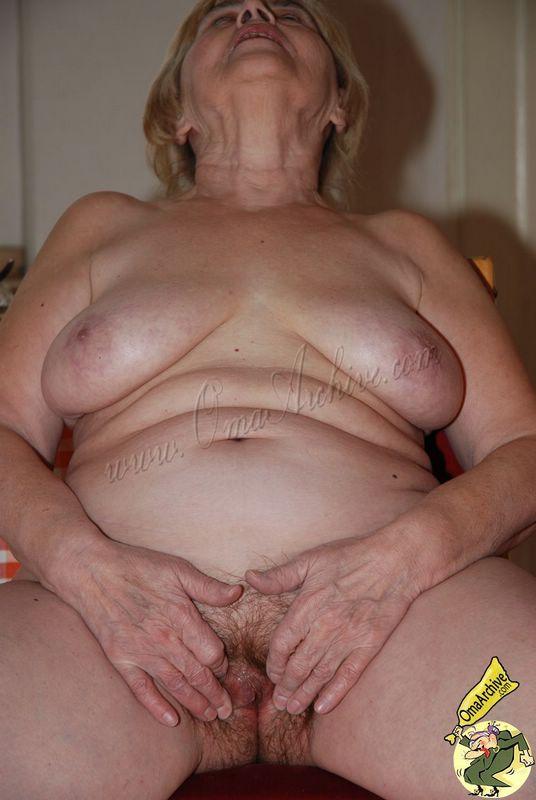 Oma anal pics