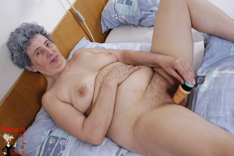 Hardcore older woman