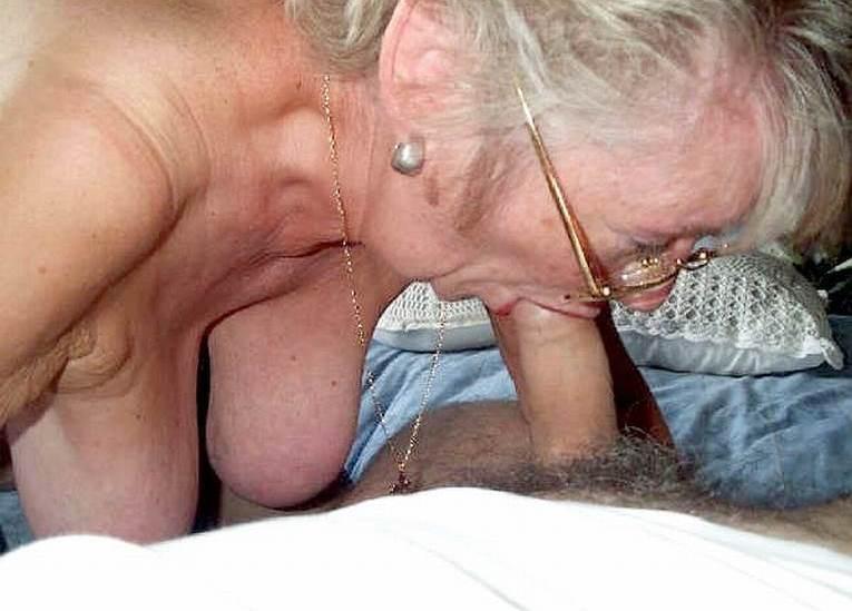 Grandma sucking grandsons cock pictures